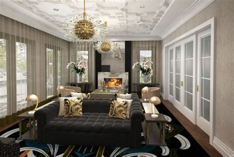 ovadia design group instagram interior designers dining and living room