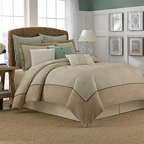khaki bedding nautica 174 eden comforter in khaki bed bath beyond