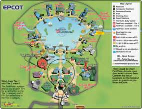 epcot florida map guide to all epcot attractions wdw prep school