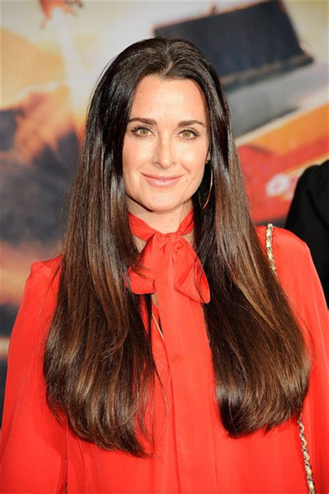 does kyle richards have extensions kyle richards zimbio