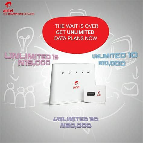 airtel nigeria unveils new unlimited access data