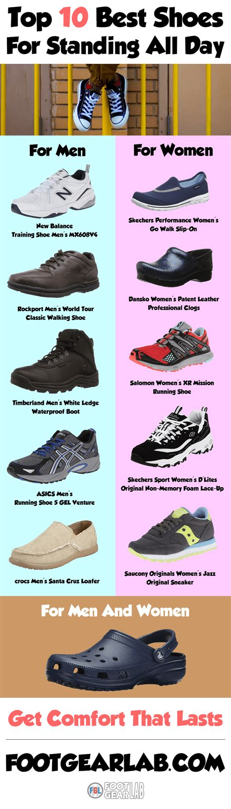 stylish comfortable shoes for standing all day most comfortable shoes for standing on your feet all day