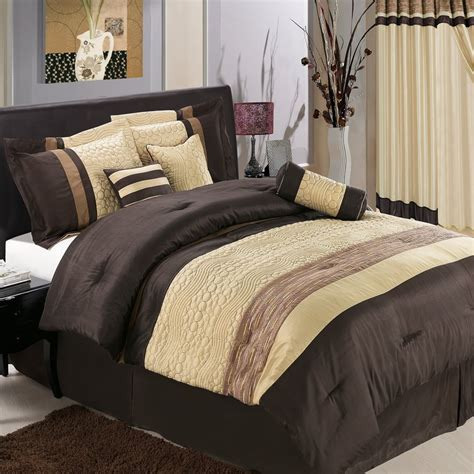 luxury bedroom design with beautiful masculine bedding