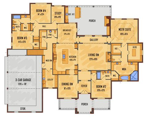 average square footage of a 4 bedroom house average square footage of a 4 bedroom house 100 average
