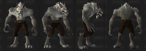 worgen models image gallery worgen model