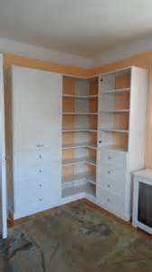 corner wall unit contemporary closet new york by