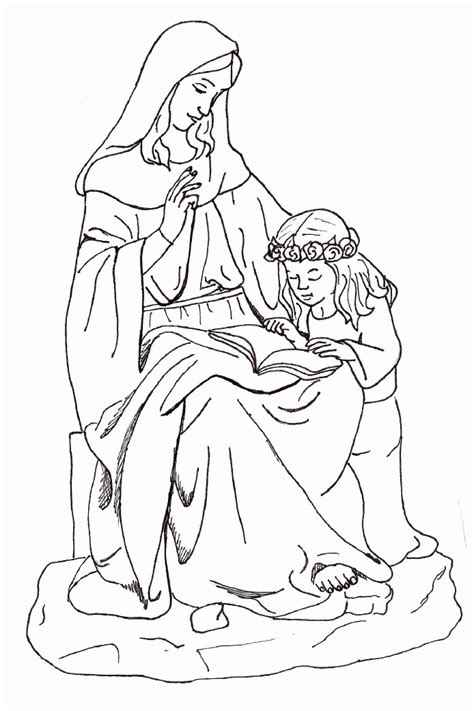 coloring page catholic catholic saint coloring pages coloring home