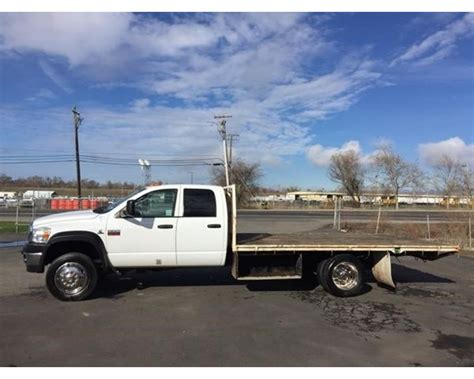 2010 dodge ram 5500hd flatbed truck for sale west