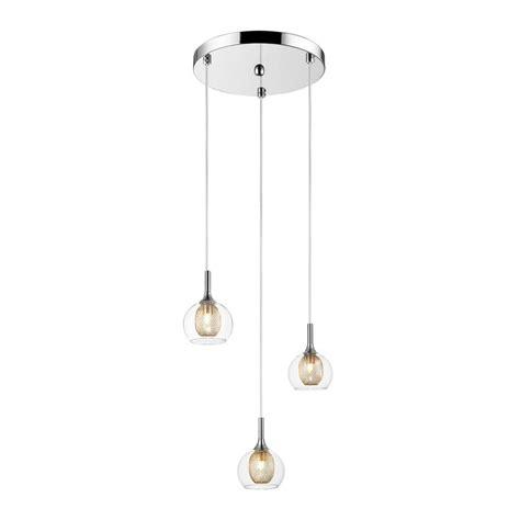 Filament Design Peak 3 Light Chrome Pendant Cli Jb 034813 3 Light Pendants