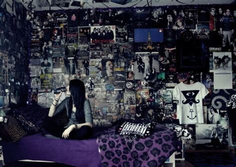 emo bedroom ideas band room tumblr