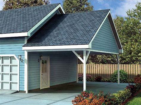 Carport Attached To Garage by Plan 047g 0023 Garage Plans And Garage Blue Prints From