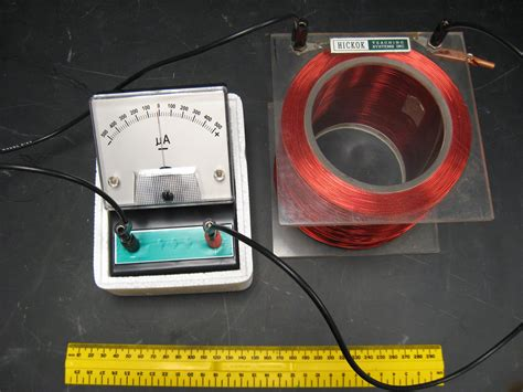 electromagnetic induction using galvanometer electric and magnetic demonstrations