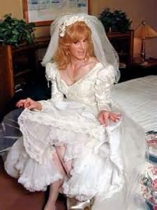 guys forced to wear wedding gown transvestite bride transvestite pinterest just love