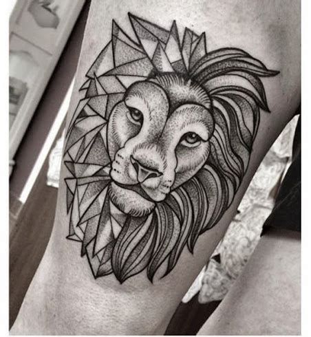 geometric lion tattoo 30 geometric designs for the creative you flower