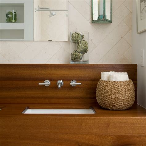 Wood Bathroom Countertop by Wood Vanity Countertops Bathroom By Craft Surfaces