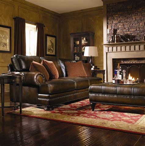 bernhardt furniture foster leather sofa bernhardt leather sofa roselawnlutheran