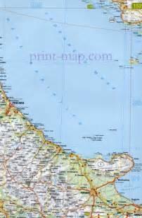 map of foggia italy foggia map