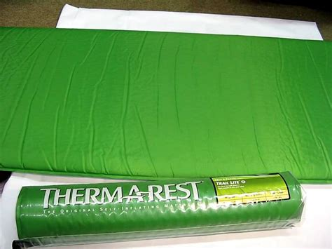 thermarest trail lite sleeping pad review