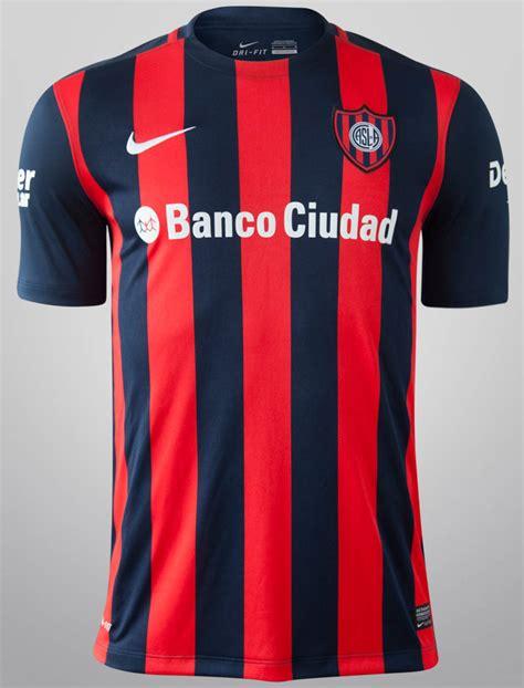 Jersey San Lorenzo Home 2017 nike san lorenzo 2015 kits released footy headlines