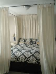 Canopy Bed With Curtains What Bracket For Curtain Canopy Bed Room Decorating Ideas Home Decorating Ideas