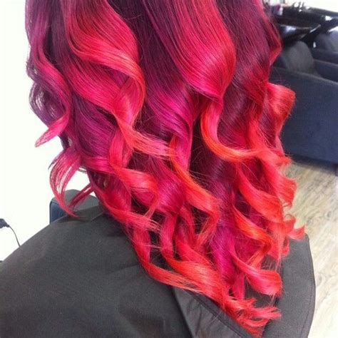 bright hair color for curly hair bright red curly hair hair pinterest curly hair