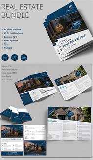 real estate prospectus template real estate brochure template psd free