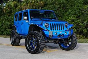 Jeep Customized Custom Jeep Wrangler By Performance