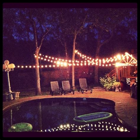 backyard lighting ideas for a party lighted backyards backyard party lights 21st birthday