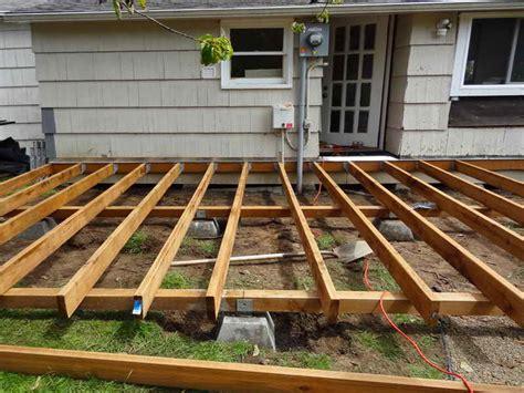 home elements  style wood deck blueprints building