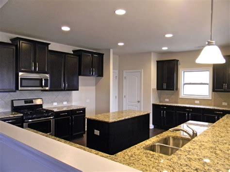espresso kitchen cabinets with granite countertops timberlake tahoe maple espresso cabinets kitchen