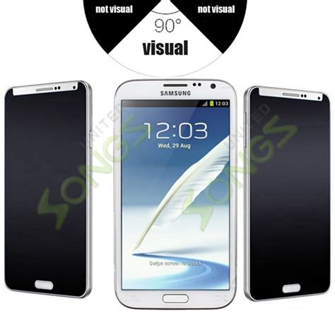 Tempered Glass Samsung Galaxy Note 2 N7100 Premium Quality samsung galaxy note 2 premium tempered glass screen protector privacy