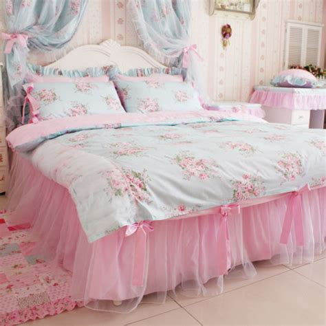 kawaii bed pajamas bedding flowers girly bedding kawaii home