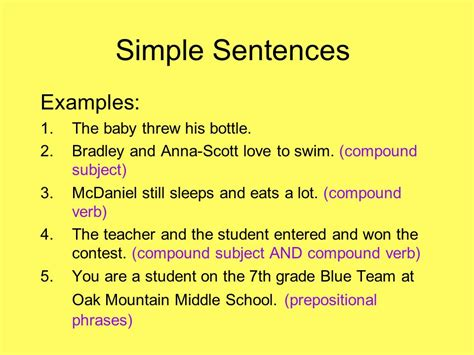 sentence template there will be a sentence structure quiz this friday