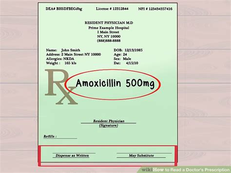 a number of your prescribed drugs honestly can cause weight advantage how to read a doctor s prescription 10 steps with pictures