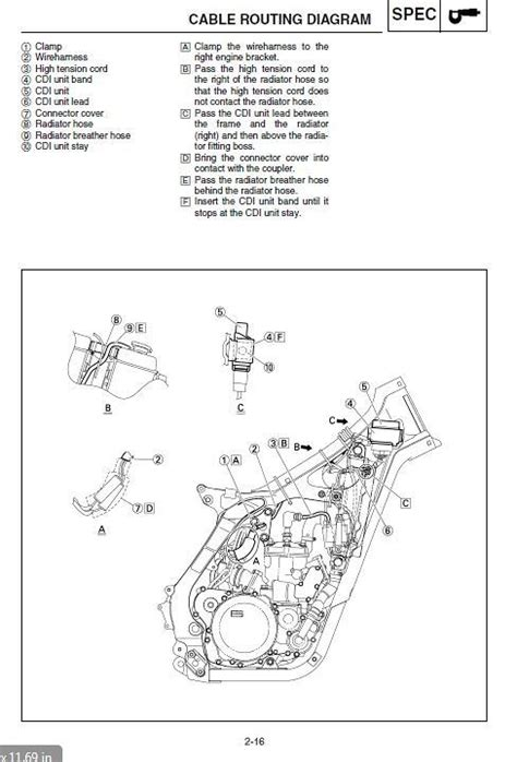 yz250 wiring diagram repair wiring scheme