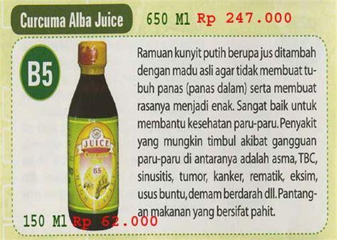 Madu Curcuma Alba B5 b5 curcuma alba juice xamthone pluss mu menyembuhkan