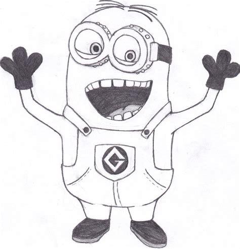 imagenes como dibujar un minions como dibujar a un minion de mi villano favorito imagui