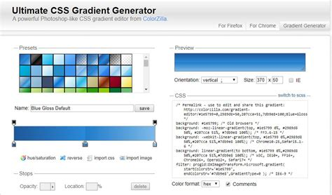 gradient background generator 7 best css gradient generators on air code