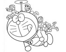 15 contoh sketsa gambar kartun untuk mewarnai