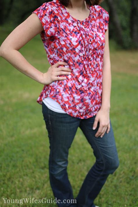 Blouse Cameline my summer stitch fix box and why i ve changed my mind
