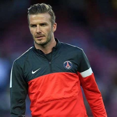footballer hairstyles retirement in the stars for beckham football sport