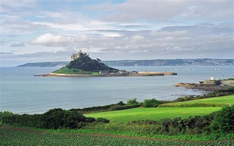 Modern Day Houses by St Michael S Mount Castle In England Thousand Wonders