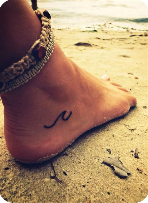wave tattoo on foot best 25 wave foot ideas on