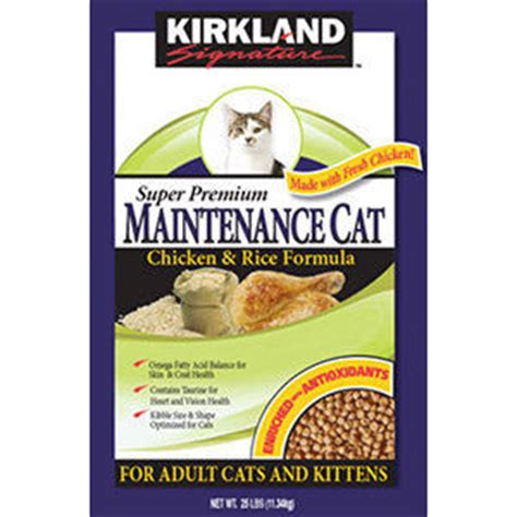 kirkland food review kirkland signature premium maintenance cat formula