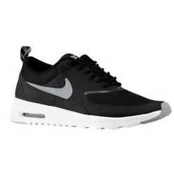 Nike air max thea women s running shoes black anthracite white