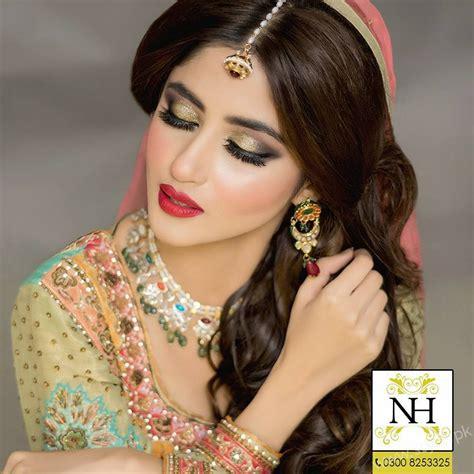 sajal ali wedding pics sajal ali photoshoot in bridal sajal ali bridal makeup nadia hussain salon sajal ali