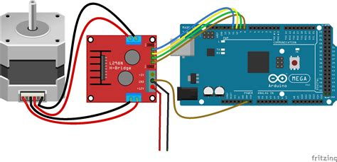 code arduino l298n how to run stepper motor with arduino using l298n driver