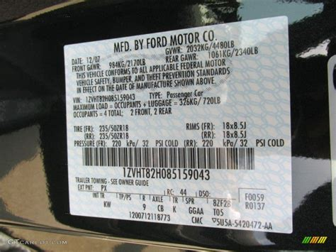 100 paint code from vin ford vin and door tag decoding 2004 expedition ford truck toyota