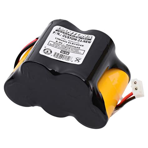 Baterai Lu Emergency 6 Volt ultralast green dantona 6 volt 4000 mah ni cd battery for