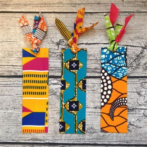 Handmade Fabric Bookmarks - fabric book marks book wax bookmark